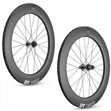 Paire de roues carbone ARC 1400 DICUT 80 Disc DT SWISS